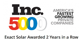 Exact Solar_2 Years Awarded Inc 5000